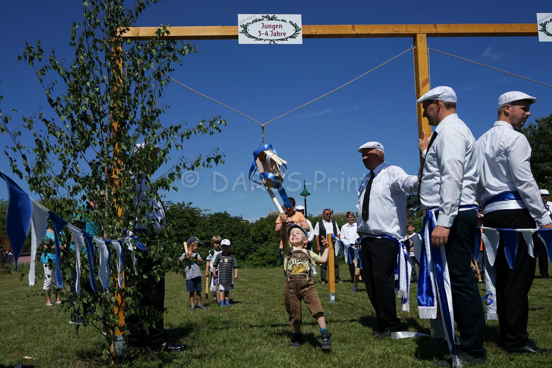 Kinderfest Born 2017