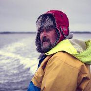 Mit dem einzigen Fischer Prerows auf der Ostsee